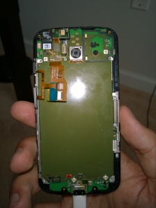 The Main board under the battery